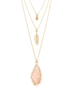 Picture of Crystal Layered Necklace - Variant 1