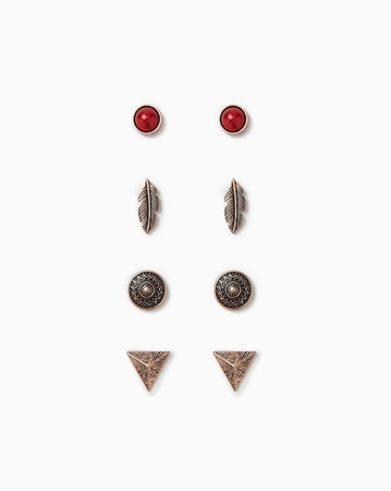 Picture of Clustered Faux Stone Studs