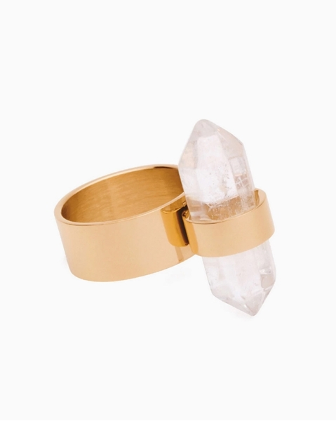 Picture of Arrow-Wrap Crystal Ring